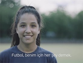 UEFA Equal Game - Zehra Badem Germany - with Turkish  subtitles