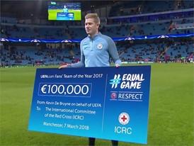 ICRC CHEQUE LIVE - UEFA Logo