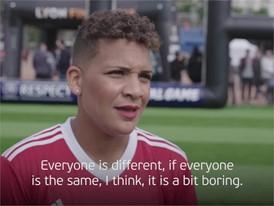 UEFA Equal Game Lyon 150518 - Shanice van de Sanden quote - Subtitled
