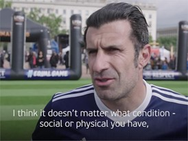 UEFA Equal Game Lyon 150518 - Luis Figo quotes - Subtitled