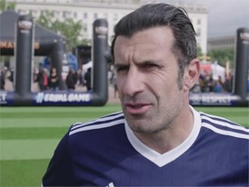 UEFA Equal Game Lyon 150518 - Luis Figo quotes
