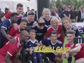 UEFA Equal Game Lyon