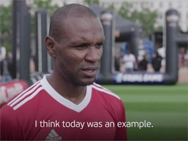 UEFA Equal Game Lyon 150518 - Eric Abidal quote - Subtitled