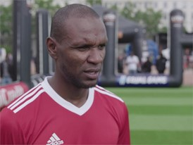 UEFA Equal Game Lyon 150518 - Eric Abidal quote
