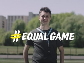 UEFA Equal Game - Ukraine - Oleksandr English