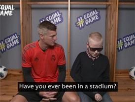 Toni Kroos & Aron #EqualGame interview clip