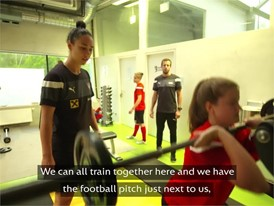 National Centre Women's Football Austria - With English Subtitles