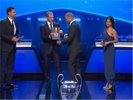 UEFA Champions League group stage draw and player award ceremony - VNR