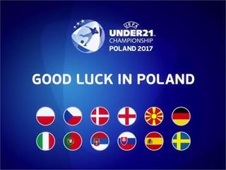 Under-21 final tournament draw: Poland 2017