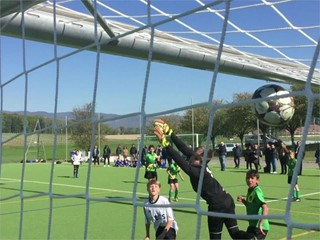 Behind the Scenes of UEFA Youth League with Camp Cinéma Children