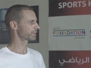 Zaatari UEFA President Quote
