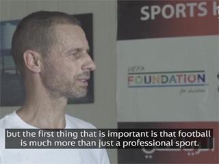 Zaatari UEFA President Quote ENG Subs