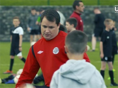 Grassroots gold goes to Northern Irish club