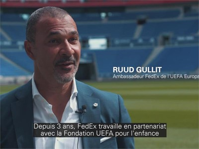 Dreams made possible for Lyon children at UEFA Europa League final - French