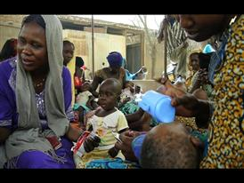 UNICEF reports on an increase in malnutrition cases in Chad as the Sahel region is hit by a severe food crisis