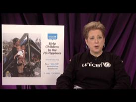 Caryl Stern, President and CEO of the U.S. Fund for UNICEF