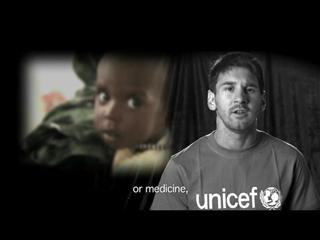 UNICEF Goodwill Ambassador and football star Leo Messi campaigns for an end to preventable child deaths