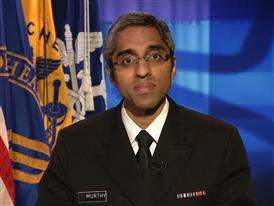 Surgeon General Dr. Vivek H. Murthy Walking Soundbites