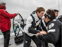 Leg Zero: Around the Island Race - Actor James Norton joined Team Sun Hung Kai / Scallywag