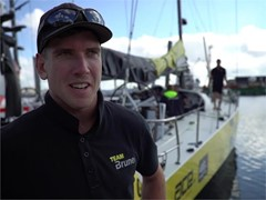 Team Brunel Interview, St Malo
