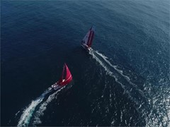 Prologue: Dongfeng's Liu Xue 'Black' ahead of the leg start