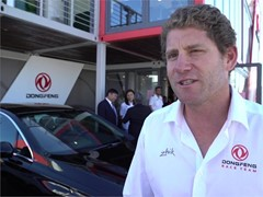 Pre-Leg 1 start interviews with DongFeng Racing Team (ENG, FRA, CHN)