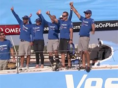 VNR ALERT: Vestas 11th Hour Racing win Leg 1 of the Volvo Ocean Race