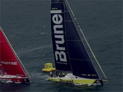 Team Brunel win the Mirpuri Foundation In-Port Race Lisbon