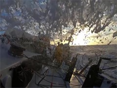 VNR ALERT - Clouds bring beauty but more challenges for Volvo Ocean Race fleet