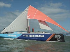 Vestas 11th Hour Racing arrives into Itajaí