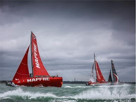 Leg Zero: Around the Island Race - Volvo Ocean Race boats beat existing monohull record in around the Isle of Wight race at Cowes Week