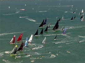 Leg Zero: Rolex Fastnet Race - start day highlights
