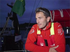 Leg Zero: Rolex Fastnet Race - Interview Blair Tuke (ENG)