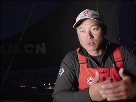 Leg Zero: Rolex Fastnet Race - CHINESE Language interview Chen 'Horace' Jinhao
