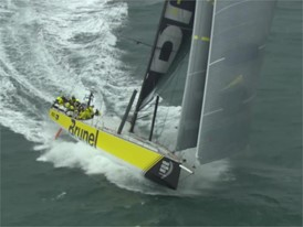 B-roll_Peter Burling joins Team Brunel