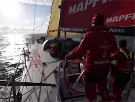 Leg Zero: Mapfre boatfeed, stage three