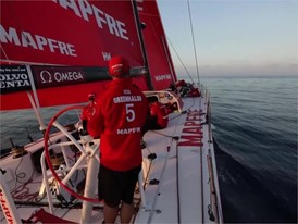 Mapfre wins the prologue leg and approaches home port of Alicante