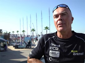 IV Bouwe Bekking before the In-port Race in Alicante (ENG-NED)