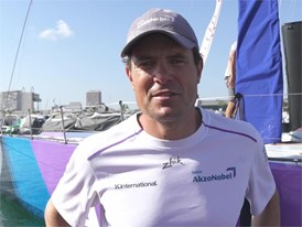 POR IV Joca Signorini after the In-Port Race in Alicante