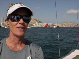NED IV Carolijn Brouwer after the In-Port Race in Alicante