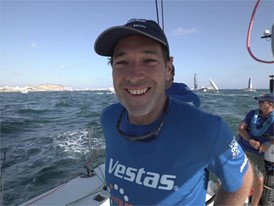 ENG IV Simon Fisher after the In-Port Race in Alicante