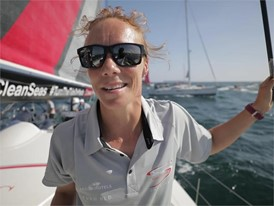 NED IV Annemieke Bes after the In-Port Race in Alicante