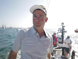 ENG IVs Steve Hayles and David Witt after the In-Port Race in Alicante