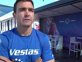 Pre-Leg 1 start interviews with Vestas 11th Hour Racing (ENG, DEN, ESP/GAL)