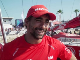 Willy Altadill after In-Port Race in Alicante (ESP)