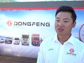 Chen Joinhao 'Horace', Dongfeng Race Team, pre-Leg 1 start interview (CHN)