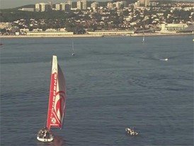 VNR: Leg 1 arrival Dongfeng Race Team gets third place