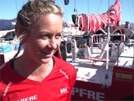 IV (EN) MAPFRE Ciszek before Leg2 start