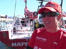 IV (ES) MAPFRE Echegoyen before Leg2 start