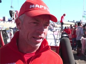 IV (EN) MAPFRE Greenhalgh before Leg2 start